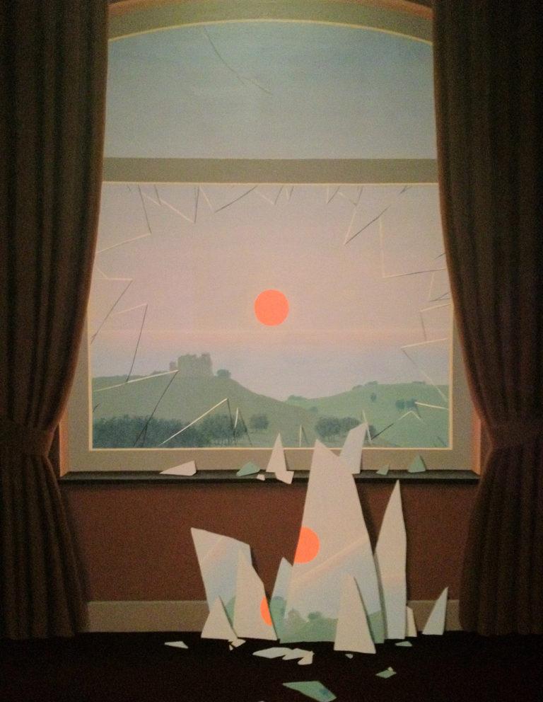 Magritte - le soir qui tombe - 1964 - huile sur toile - 162x130cm