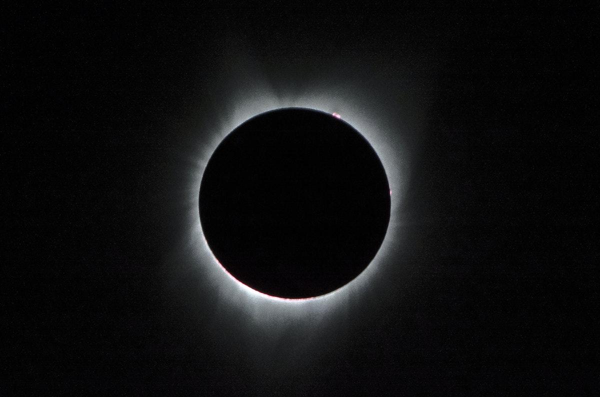 Éclipse totale du soleil en 2017   photo de la NASA