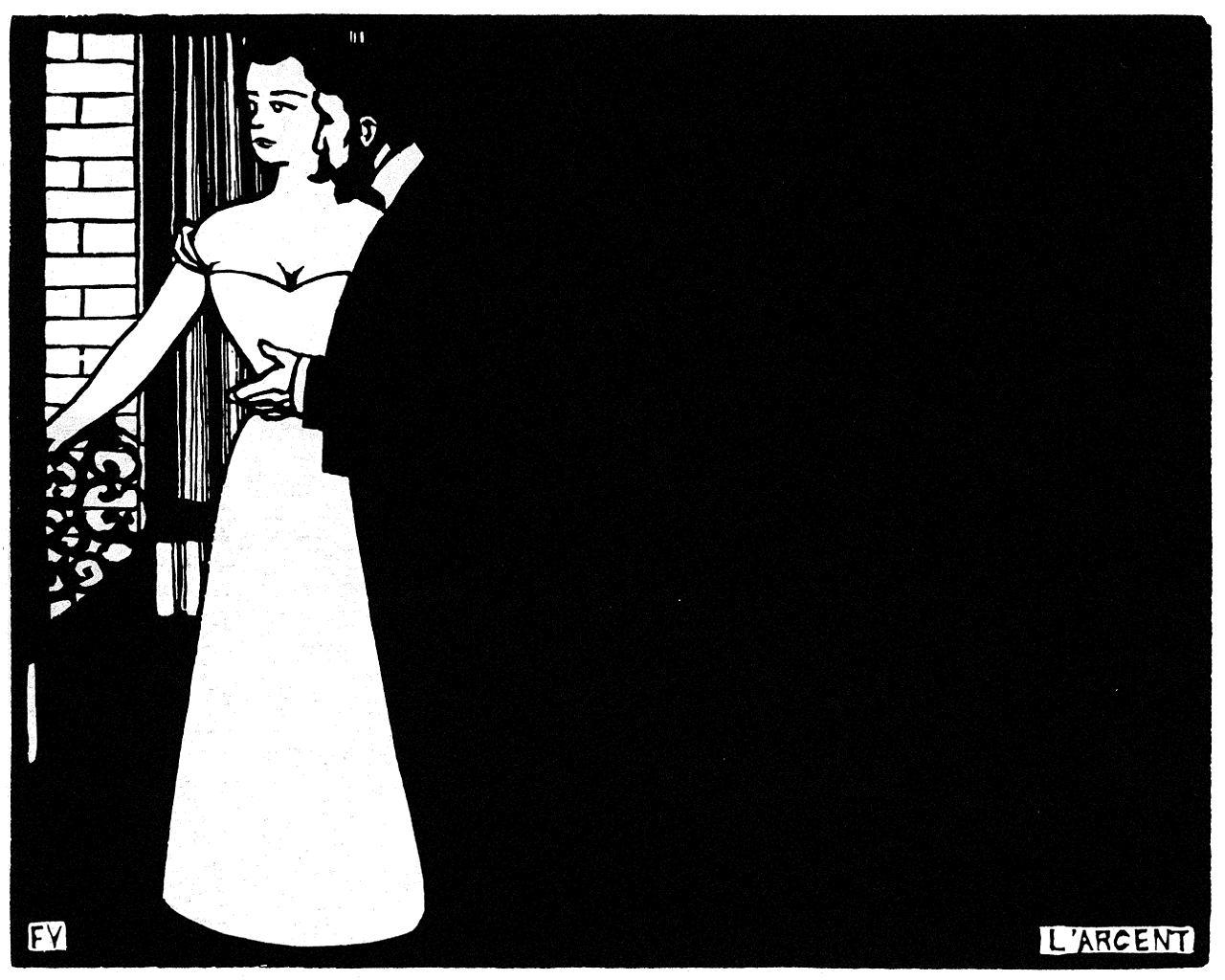 L'argent (Intimites V) - 1898- Félix Valloton